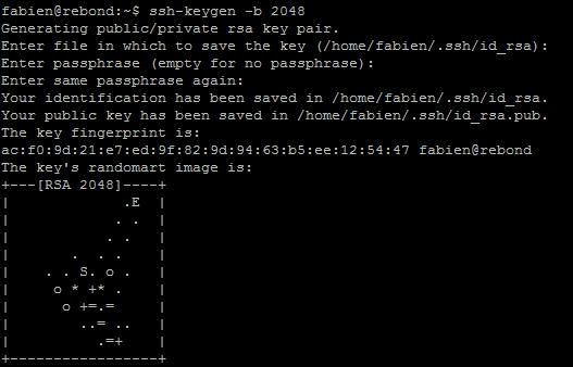 SSH keygen