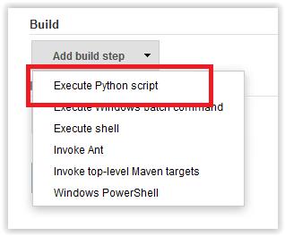 Execute Python script